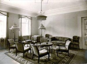 Aufenthaltsbereich 1930 - 1950